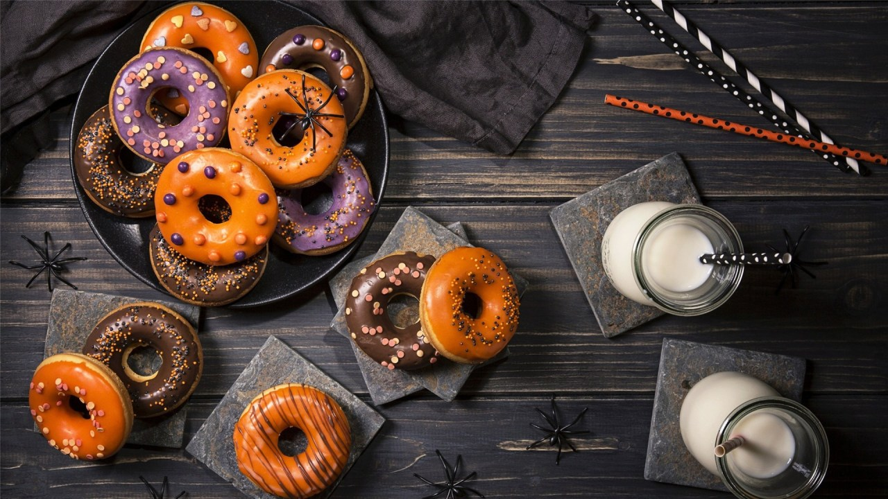 Food Background Photography – Pizza Wallpaper Cute – Donut Hd Wallpaper